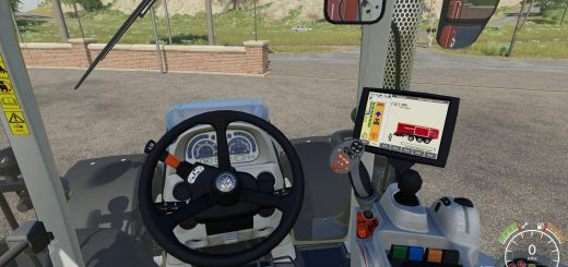 NEW HOLLAND T7 EXTENDED HUD V1.0