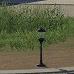 PLACEABLE GARDEN LAMP V1.0