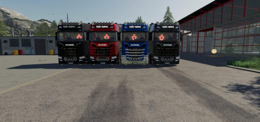 SCANIA S580 SCRATCHY EDITION V0.9