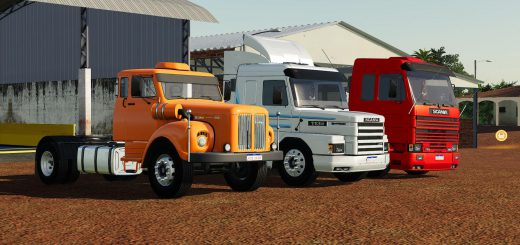 SCANIA TRUCKS PACK V1.0