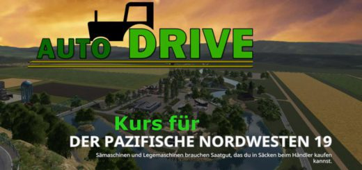 AUTODRIVE COURSE NETWORK FOR THE PACIFIC NORTHWEST 19 V0.0.4