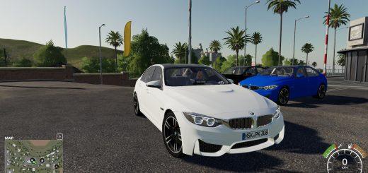 BMW M3F30 POLICE V1.0
