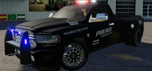 DODGE HELL TRUCK POLICE EDITION V1.0