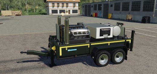 EIGENBAU STATIONARMOTOR V8 V1.0