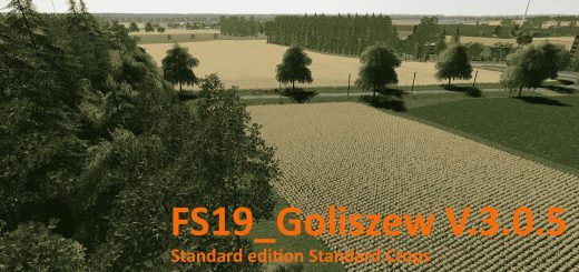 GOLISZEW STANDARD EDITION STANDARD CROPS V3.0.5