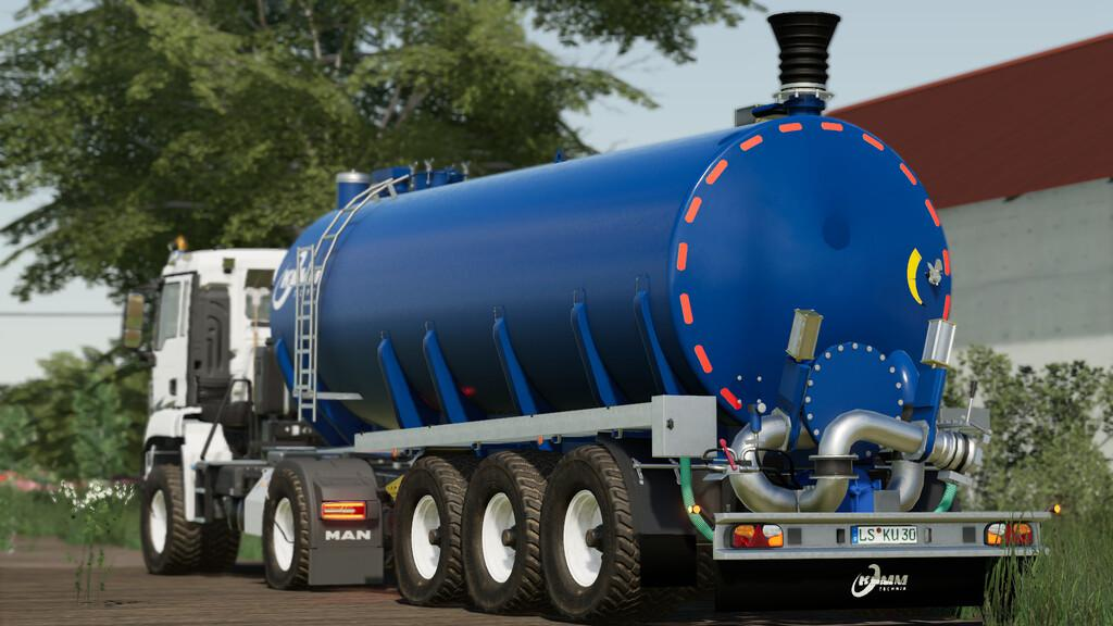 Kumm Tanker Semi Trailer V1 0 Fs19 Mods Farming Simulator 19 Mods