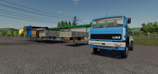 LIAZ 151 AGRO + NASTAVBY V1.0