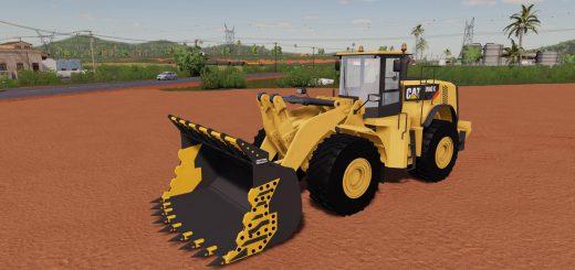 MINING BUCKET FOR 980K CAT LOADER V1.0