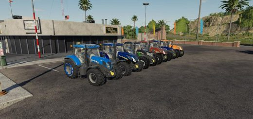 NEW HOLLAND T7/T7S V1.0