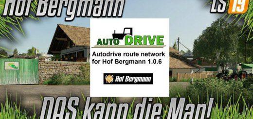 AUTODRIVE NETWORK FOR HOF BERGMANN V1.0.6
