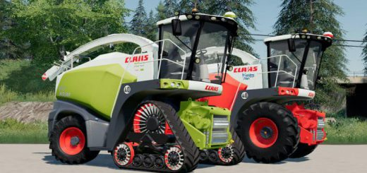 CLAAS JAGUAR 800 STRAW EDITION V1.0