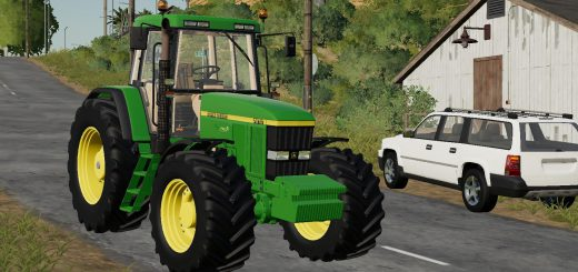 JOHN DEERE 7810 + ARM ANIMATION V1.0