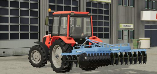 LIZARD 32 DISC HARROWS V1.0