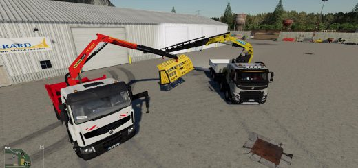 SCREEN BUCKER FOR WHEEL LOADERS BETA V0.1