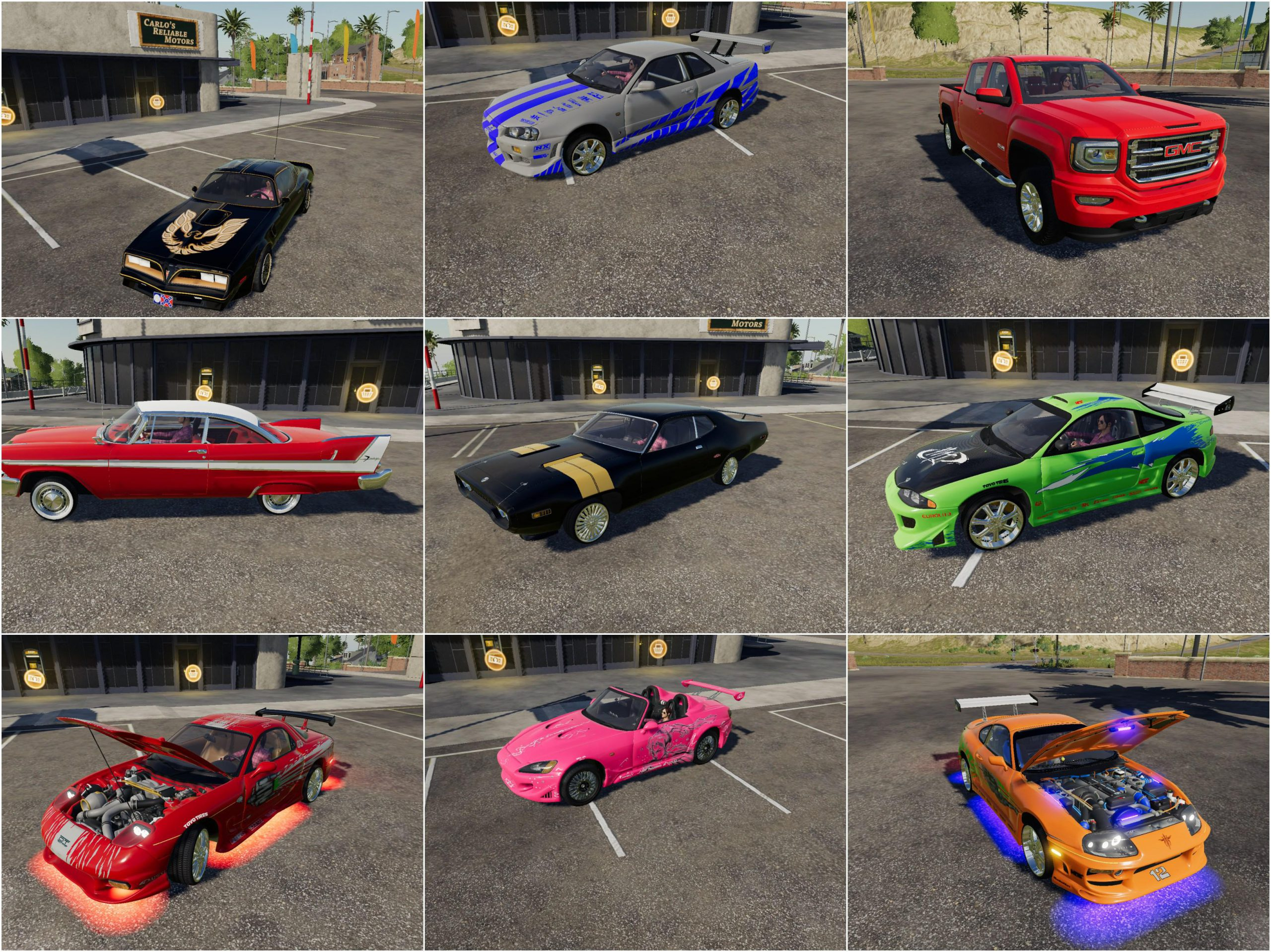 CARS PACK BY WINSTON9587