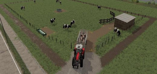 DAIRY COW PASTURE V1.0