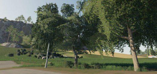 DARK TREES & BUSH TEXTURES V1.0