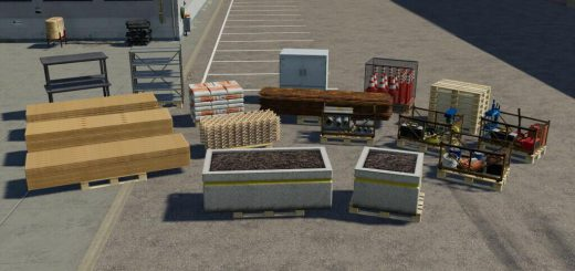 DECORATIVE PALLETS PACK V1.1