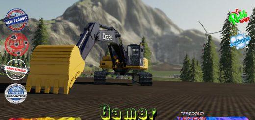 EXCAVATOR DEERE 210 G V1.5