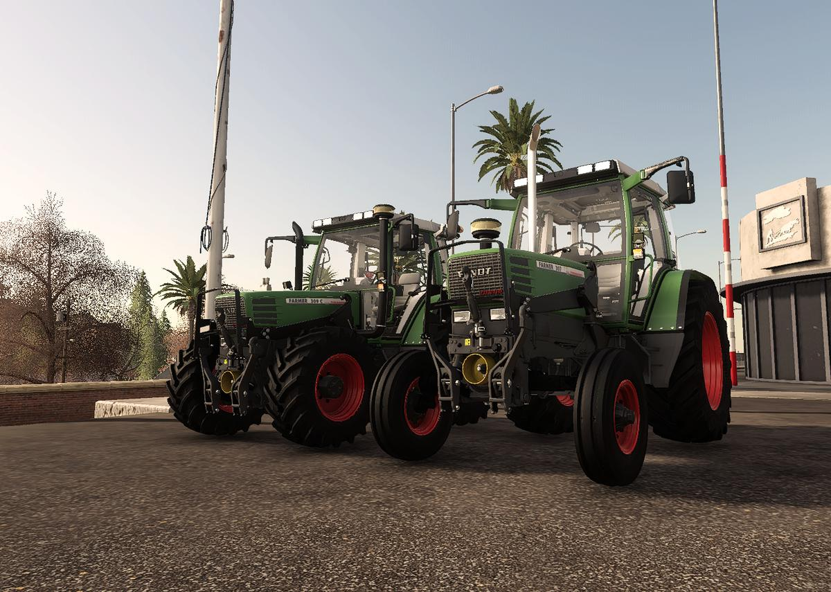 FENDT FARMER 300 WITH 2WD V1.0