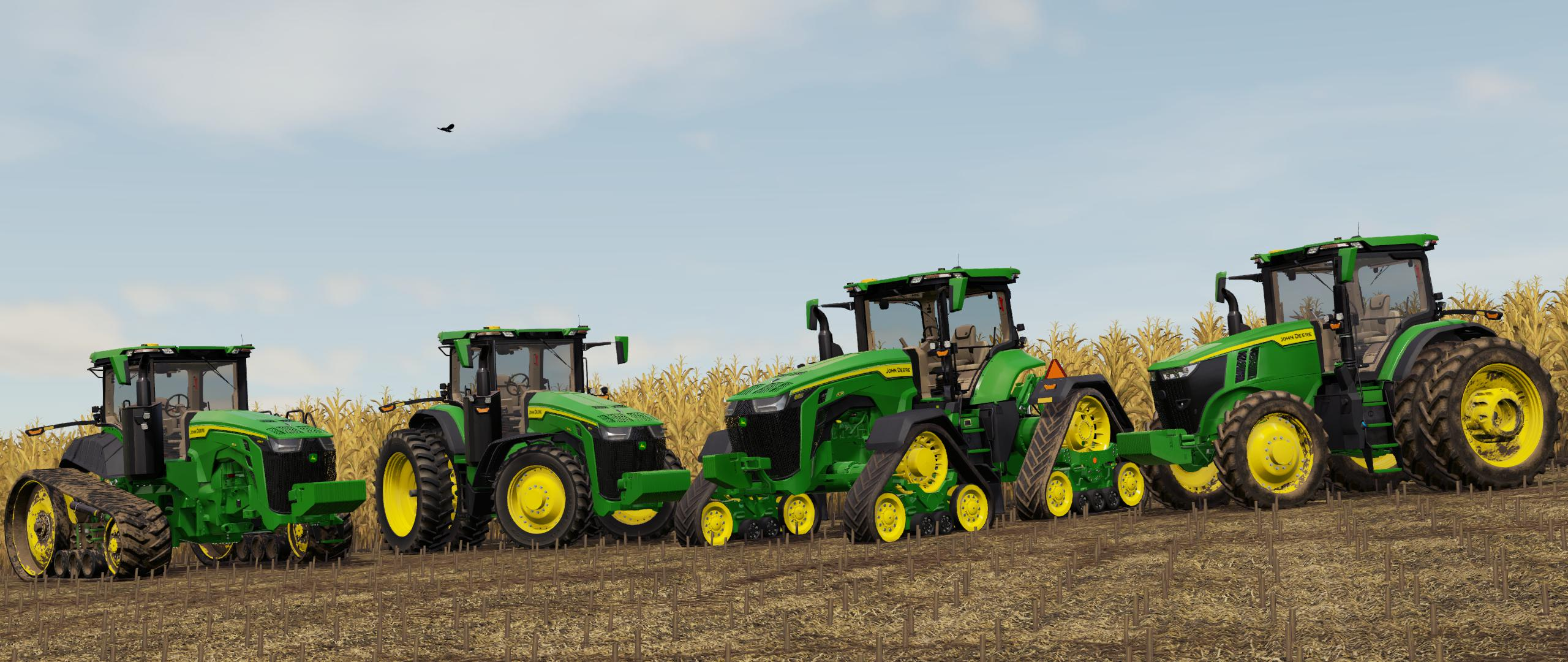 JOHN DEERE 7R,8R,8RT,8RX 2020 US-VERSION V1.0