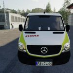 MERCEDES SPRINTER CLAAS SERVICE V1.5