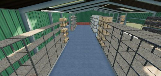 PALLETS HIGH SHELF STORAGE V1.0