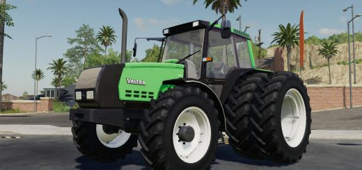 VALTRA VALMET 6400 EDIT SMOKE BLACK V1.0