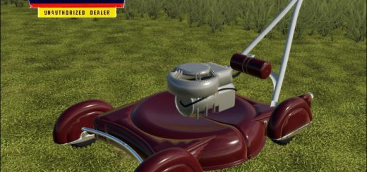 VINTAGE PUSH MOWER V1.0