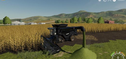 AGCO IDEAL9 FORAGE HARVESTER + CUTTER V1.0