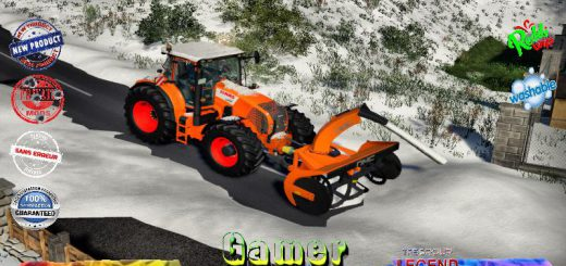 CLAAS AXION 800 SNOW V2.0