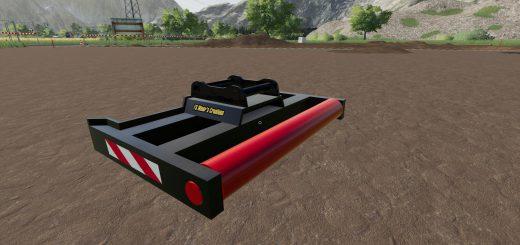 EXCAVATOR GRADE BEAM FOR VOLVO 150 V1.0