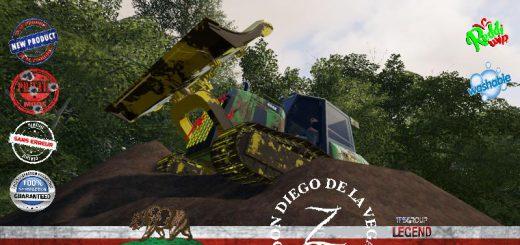 FORESTRY TRACTOR DOZER DEERE V1.5