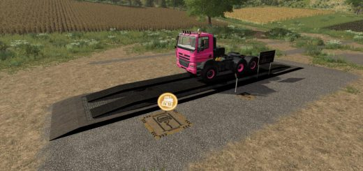 HYDRAULIC RAMP WITH REPAIRSHOP V1.0