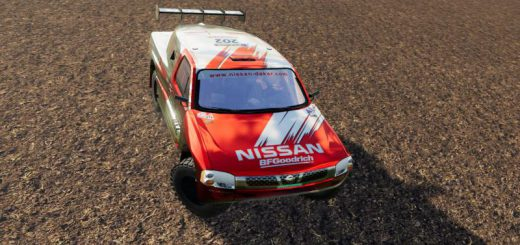NISSAN NAVARA RALLY RAID V1.5