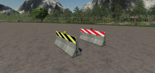 ROAD BARRIER PACK V1.1
