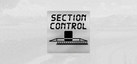 SPRAYER SECTION CONTROL V0.1.1.0