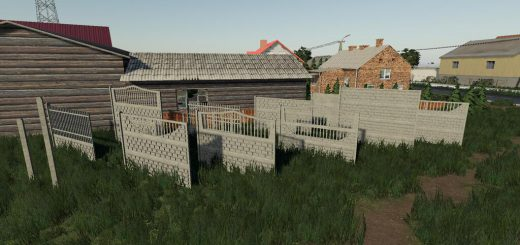 CONCRETE FENCES PACK PREFAB V1.0