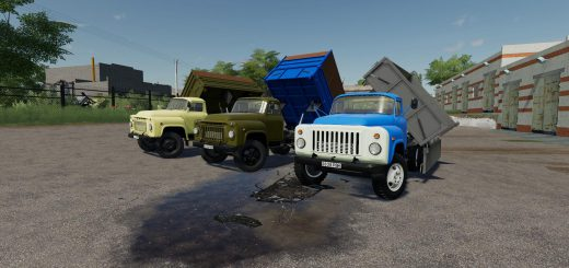 GAZ 52/53 PACK OT SD MODS V2.0