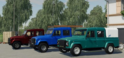 LAND ROVER DEFENDER 110 PICKUP V2.0