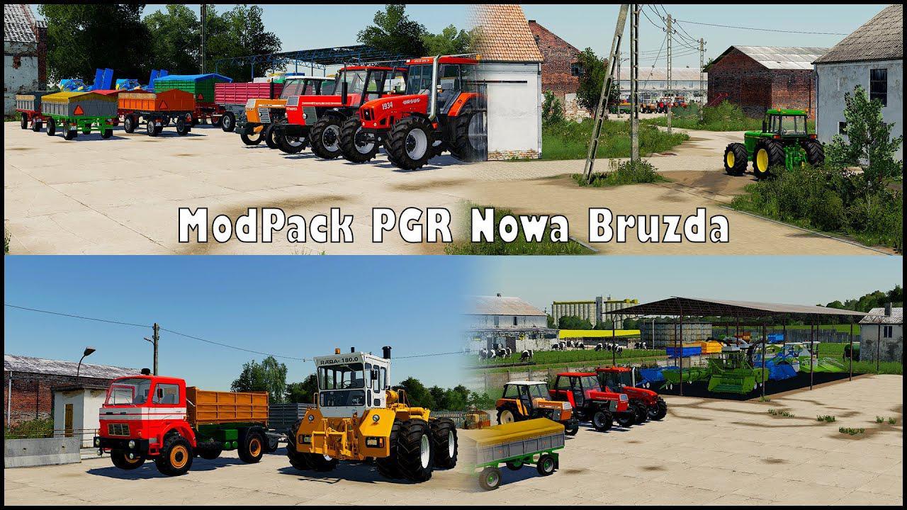 MODPACK PGR BRUZDA V1.0