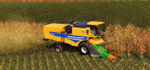 NEW HOLLAND TC 5070 AND VARIFEED 20FT v1.0