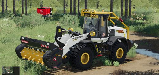New Holland W-190 Forestier v1.0