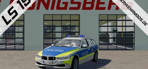 POLICE BMW 318 D OF THE POLICE SCHLESWIG HOLSTEIN V1.0