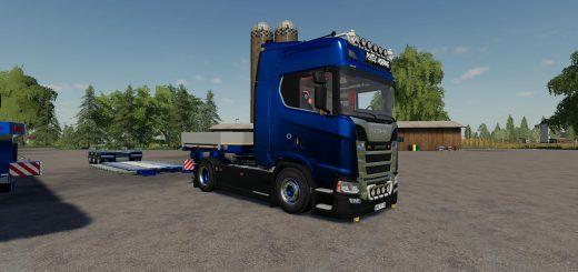 Scania Trucks Pack Multicolor v1.0