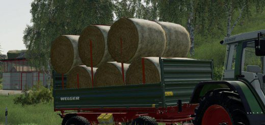 2-AXLE 3-SIDED TIPPER V1.0