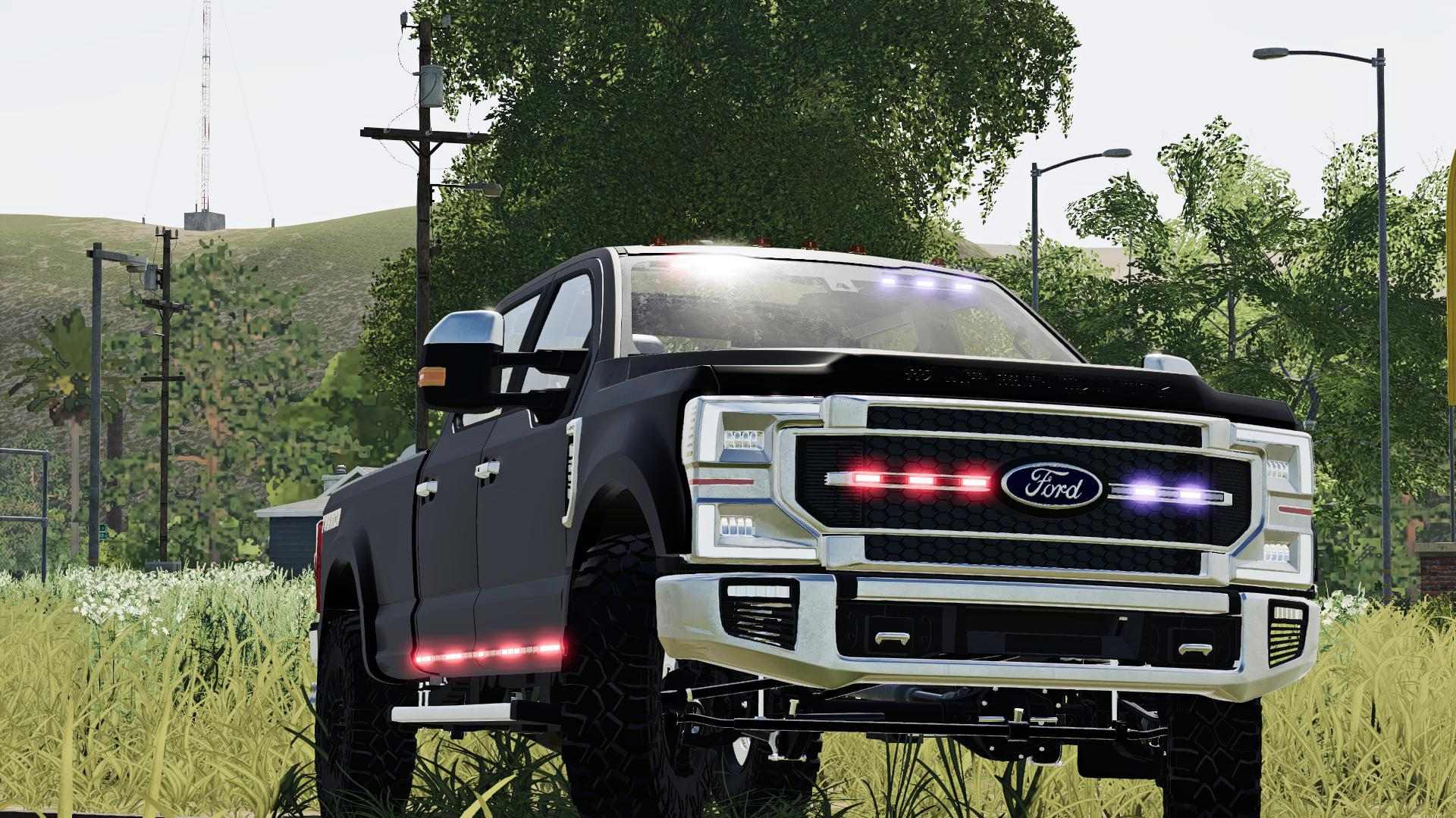 2020 FORD GHOST POLICE TRUCK V1.2.2.0