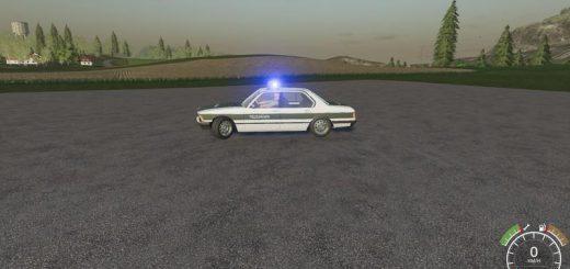 BMW 7 MILITARY POLICE V1.0