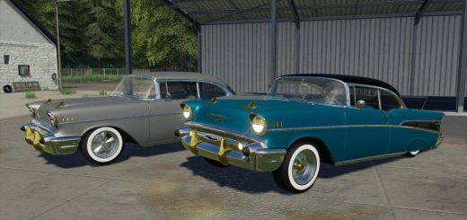 CHEVROLET BEL AIR 1957 V1.0
