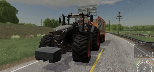FENDT 1050 WITH GEARSHIFT SOUND V1.0